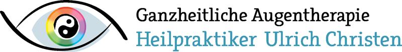 Logo von Heilpraktiker Ulrich Christen - Ganzheitliche Augentherapie